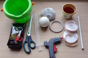 Материалы для создания кофейного деревца