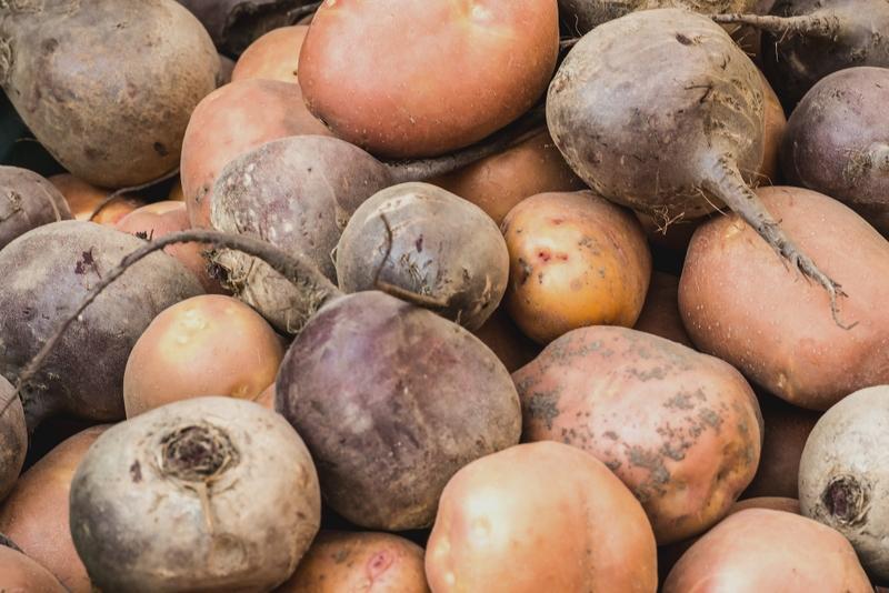 Хранение свёклы поверх картофеля